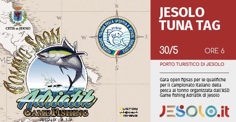 Jesolo Tuna Tag 2021 gara open pesca al tonno