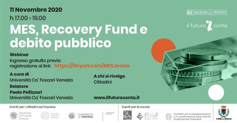 MES, Recovery Fund e debito pubblico
