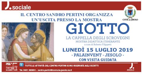 Visita del Centro Pertini alla mostra Giotto di Jesolo