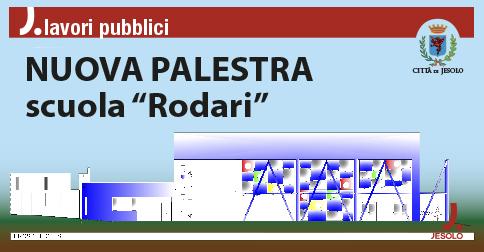 Nuova Palestra scuola Rodari