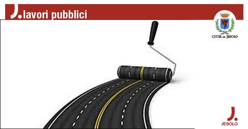 Asfaltature e manutenzioni stradali a Jesolo