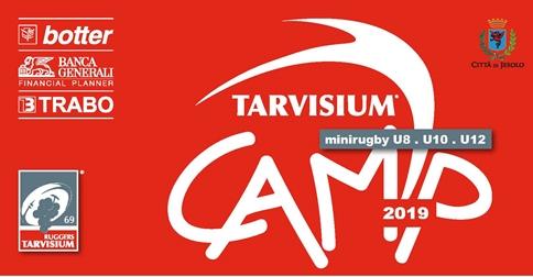 4° Tarvisium Camp - minirugby U8-U10-U12 al Villaggio Marzotto di Jesolo il 13 e 14 aprile 2019