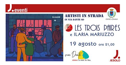 Artisti in strada - Via Dante