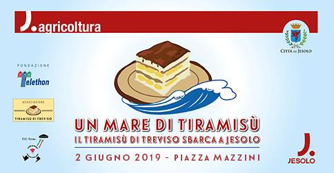 Un mare di tiramisù a Jesolo il 2 giugno 2019 - piazza Mazzini