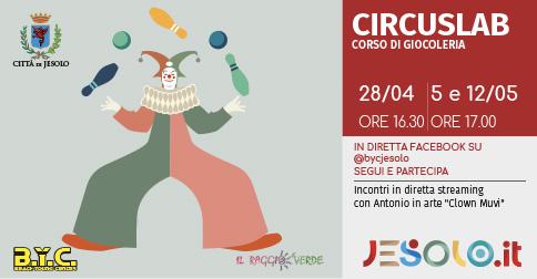 Circuslab, corso di giocoleria