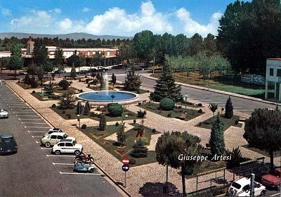 Piazza Brescia nei primi anni '60