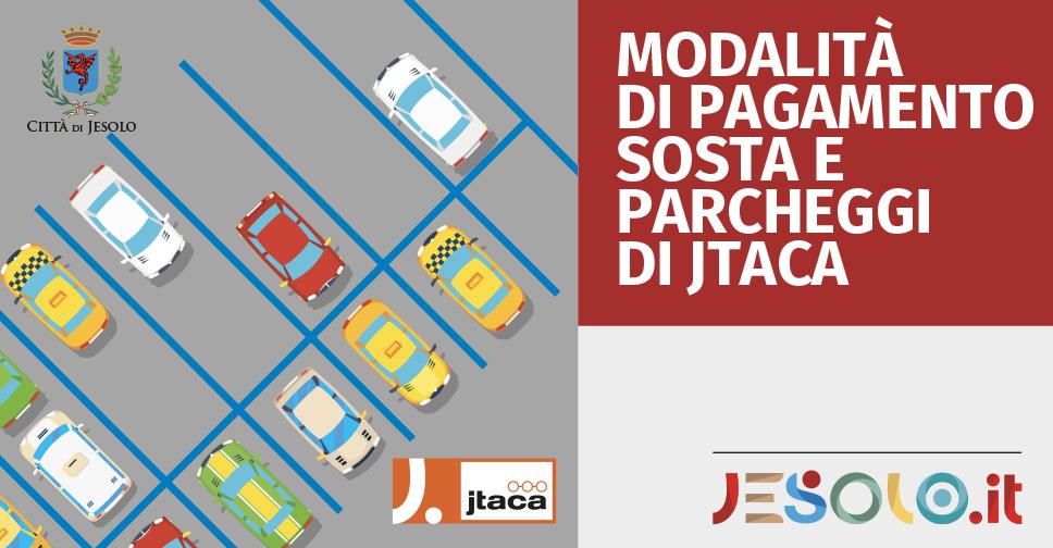 Modalità di pagamento sosta e parcheggi Jtaca a Jesolo