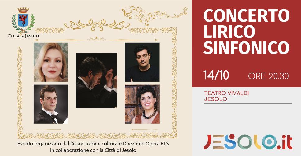 concerto lirico sinfonico Teatro Vivaldi