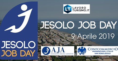Jesolo Job Day al Palazzo del Turismo di Jesolo il 9 aprile 2019