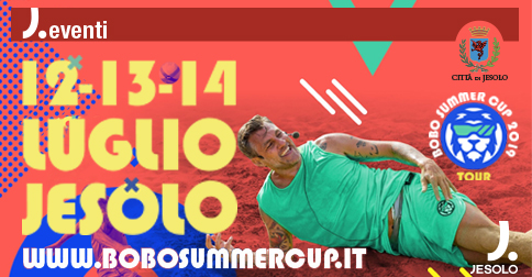 Bobo Summer Cup a Jesolo dal 12 al 14 luglio 2019