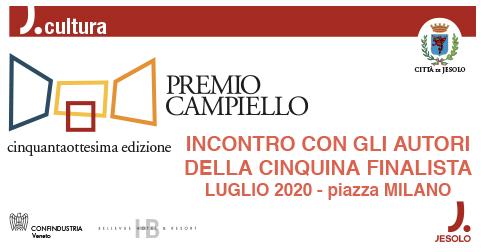 Premio Campiello 2020 - La cinquina dei finalista a Jesolo il 28 giugno 2019