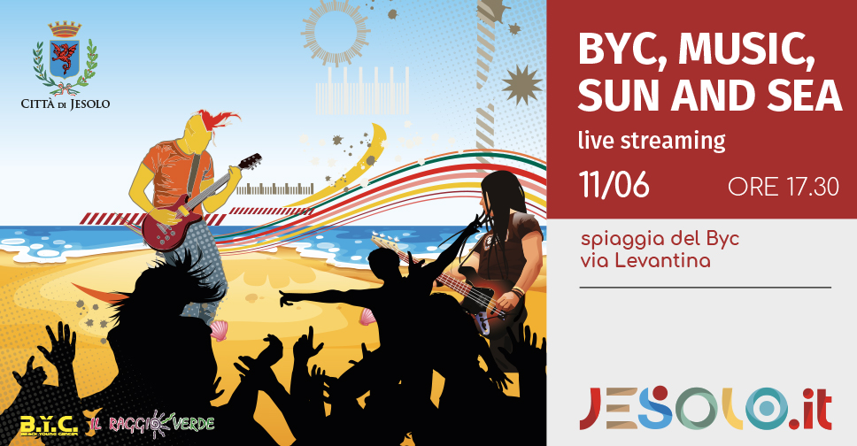 BYC, music, sun and sea