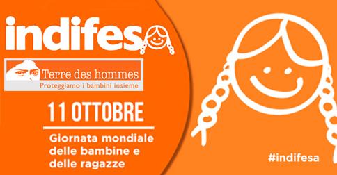 Giornata mondiale delle bambine e delle ragazze 11 ottobre anche Jesolo aderisce alla campagna di terre des Hommes