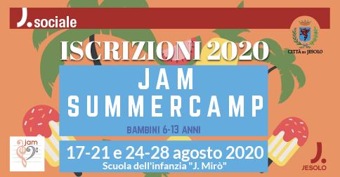 JAM summer camp a Jesolo