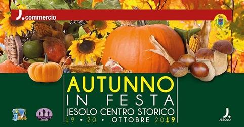 Festa d'autunno 2019 a Jesolo il 19 e 20 ottobre