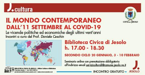 Il mondo contemporaneo: dall'11 settembre al Covid-19