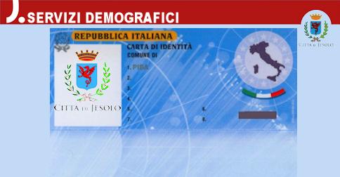Il Comune di Jesolo rilascia la nuova carta d'identità elettronica