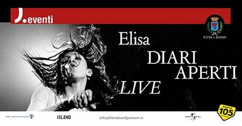Elisa in concerto al PalaInvent di Jesolo il 19 novembre 2019