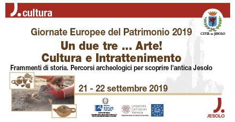 Giornate europee del Patrimonio 21 e 22 settembre 2019 a Jesolo