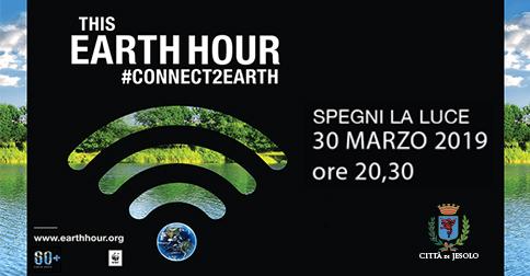 la Città di Jesolo partecipa a Earth Hour - Ora della terra