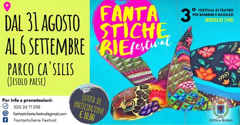 Fantasticherie, festival di teatro a Jesolo