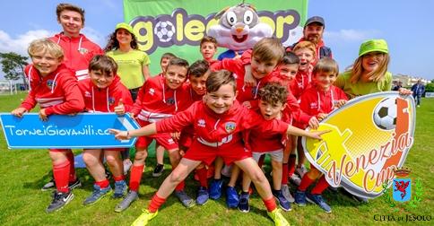 14° Venezia Jesolo Cup Torneo internazionale di calcio giovanile a Jesolo dal 19 al 22 aprile