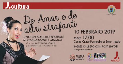 De amor e de altri strafanti - spettacolo teatrale a Passarella di Jesolo
