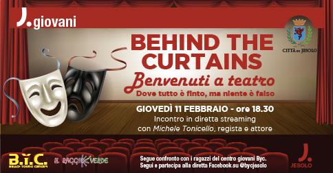 Behind the curtains! Benvenuti a Teatro dove tutto è finto, ma niente è falso