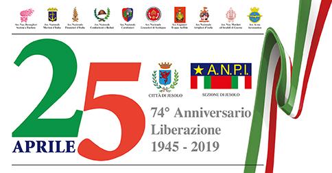 25 aprile 74° anniversario della liberazione