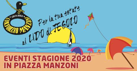 Eventi dell'estate in piazza Manzoni a Jesolo
