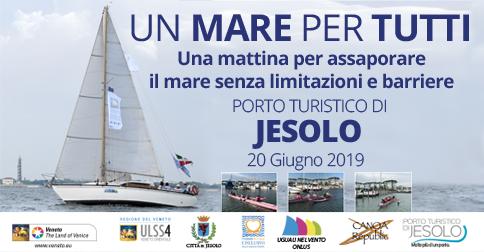 Un mare per tutti - Porto Turistico di Jesolo 20 giugno 2019