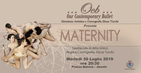 Maternity Spettacolo in atto unico 30 luglio 2019 piazza Aurora Jesolo