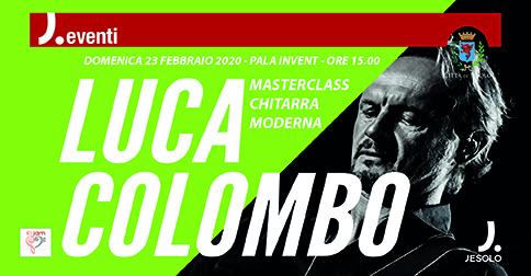 Masterclass di chitarra moderna con Luca Colombo