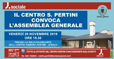 Assemblea generale Centro Pertini