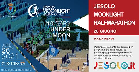 Jesolo Moonlight Half Marathon 26 giugno 2021