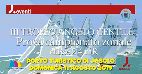 Jesolo a vela: campionato zonale classe 2.4 mR domenica 28 luglio 2019