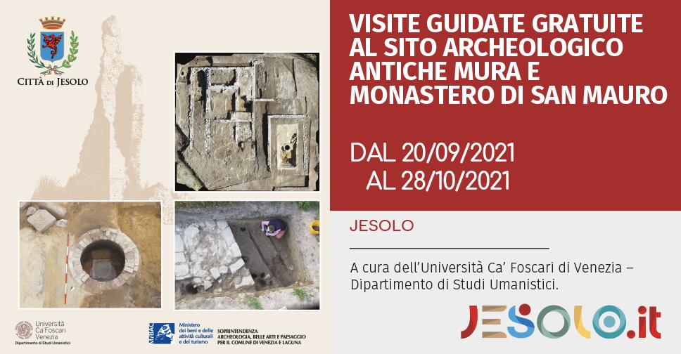 Visite guidate al sito delle Antiche Mura di Jesolo