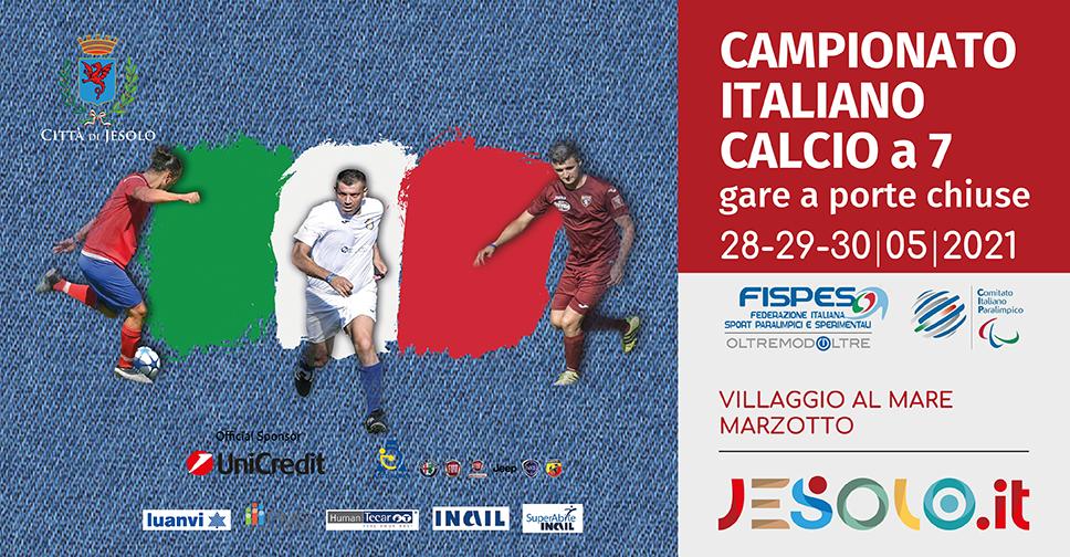 Campionato italiano Calcio a 7 - Jesolo Villaggio Marzotto 28-30 maggio 2021