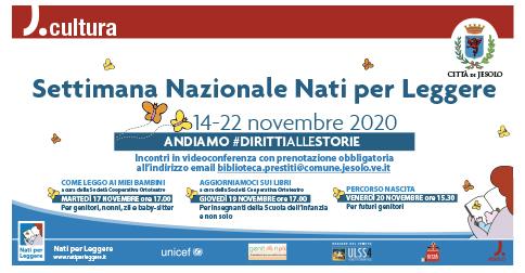 Settimana Nazionale Nati per Leggere 2020