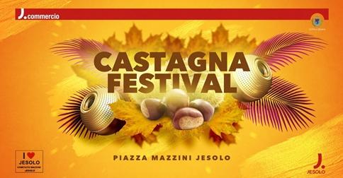 Castagna Festival a Jesolo in Piazza Mazzini dal 31 ottobre al 3 novembre 2019