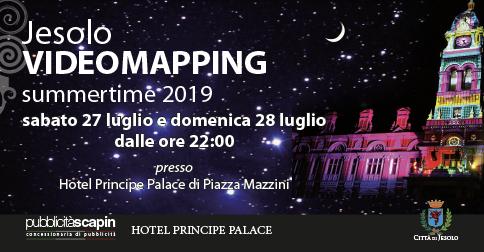 Jesolo VideoMapping summertime 2019 - piazza mazzini 27 e 28 luglio