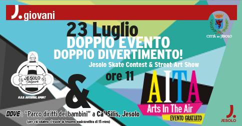Skate contest & street art show 2017 a Jesolo parco Ca' Silis