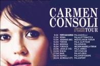 Carmen Consoli tour - le date