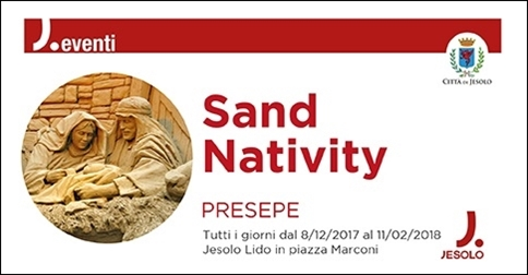 Sand Nativity 2017 a Jesolo