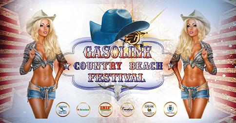 Gasoline Country Beach Festival, a Jesolo 8-10 giugno 2018