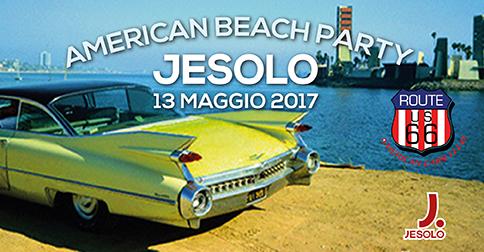 American beach party a Jesolo, domenica 13 maggio 2017