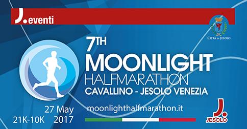 Moonlight Half Marathon Cavallino-Jesolo 27 maggio 2017