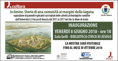 "Mostra archeologica ""In limine"" a Jesolo"