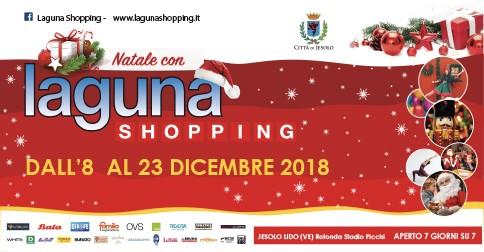 Eventi al Laguna Shopping di Jesolo per Natale 2018