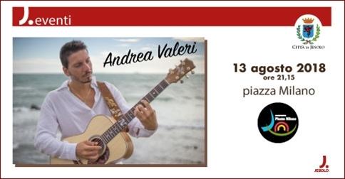 Andrea Valeri in concerto a Jesolo